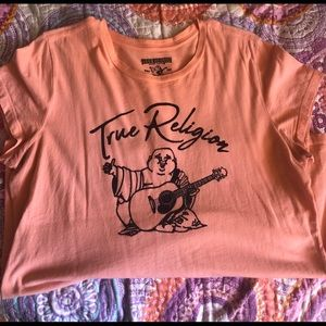 True Religion top with the Buddha